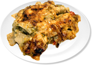 Cheesy Chicken Cabbage Casserole