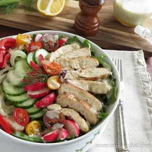 Low Carb Grilled Chicken Salad Low Carb Maven