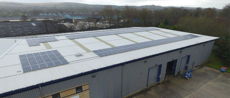 loxit solar installation