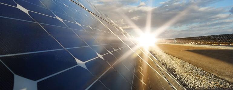 start of solar power