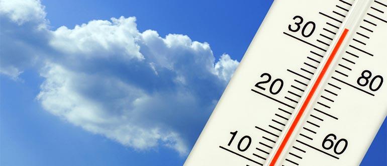 rising temperature