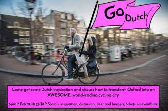 [EVENTS] Future transport in our city = this season's hot topic… Dutch inspiration, Dutch courage and yummy burgers