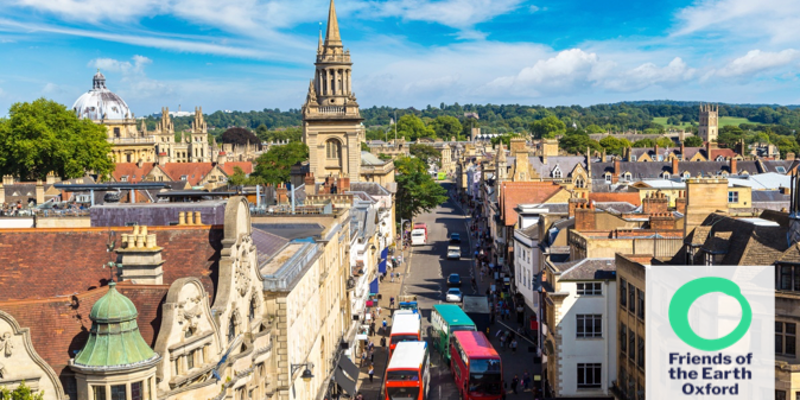 Air pollution in Oxford – making a real difference [Oxford FOE event] @ ECI