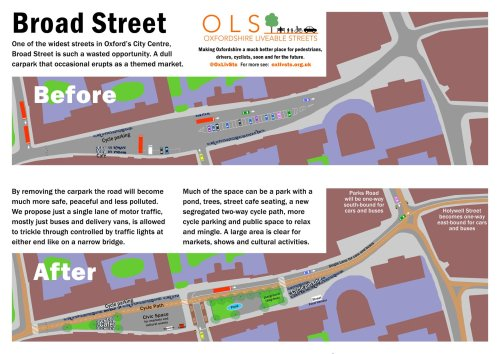Blueprint unveiling: Oxfordshire Liveable Streets @ Tap Social