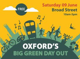 Oxford's Big Green Day Out @ Broad Street
