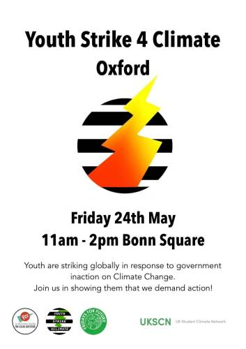 Youth Strike for Climate Oxford @ Bonn Square