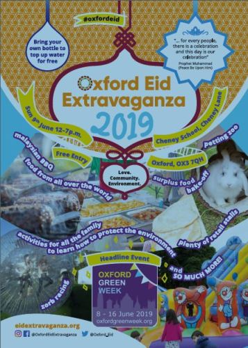 Oxford Eid Extravaganza and Environment Football Cup [OGW] @ Cheney School