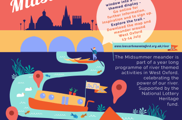 Midsummer Meander River inspiration! Wondering what to create for our local Window Wanderland 13-14 July?