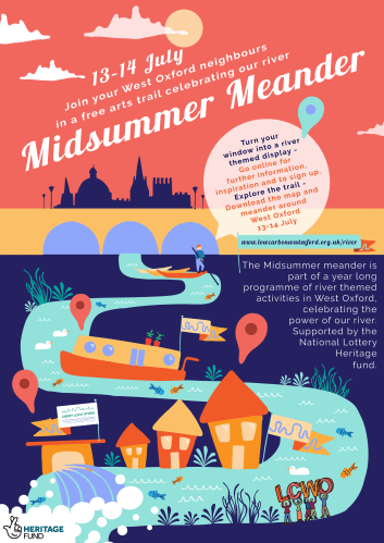 Midsummer Meander river-themed junk art workshop with Groovy Su [private event] @ West Oxford Community Primary School | England | United Kingdom