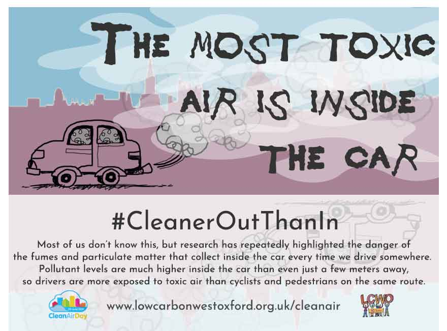 Clean Air Day 2019: #CleanerOutThanIn | Low Carbon West