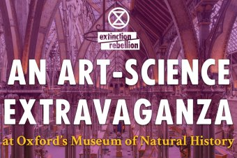 XR Oxford's Art-Science Extravanganza – we ran a workshop on talking to kids