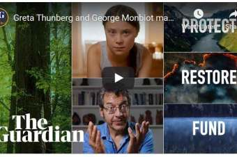 Wonderful film by Greta & George: Protect, Restore, Fund – come to our tree planting planning meeting to find out how!