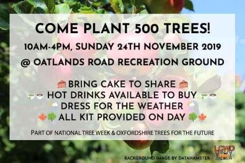 West Oxford TREE PLANTING - come join! @ Oatlands Park | England | United Kingdom
