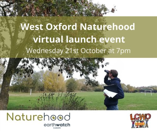 West Oxford Naturehood virtual launch night - with wildlife expert Dr Daniel Hayhow @ Online event