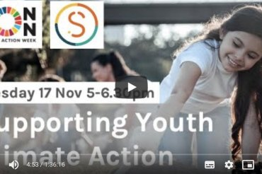 Supporting youth climate action in our communities – useful lessons from an online event