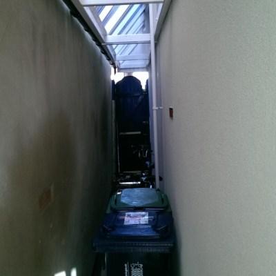 Side alley after EWI installation
