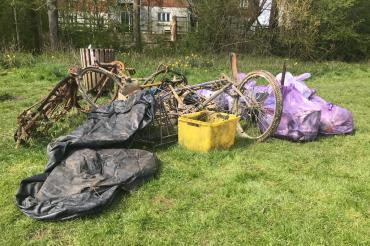 This weekend's litter haul – Willow Walk now feeling loved