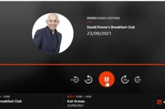 Hear us live on BBC Radio Oxford this morning!