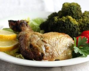 Lemon Parsley Chicken - Serving Suggestion