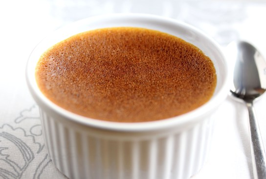 Easy Low Carb Pumpkin Custard, All White