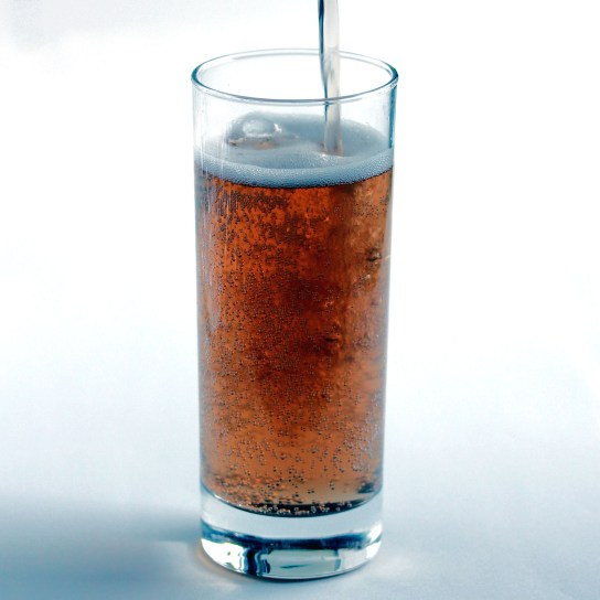 DIY Diet Dr Pepper, Pouring into Glass | Low-Carb, So Simple!
