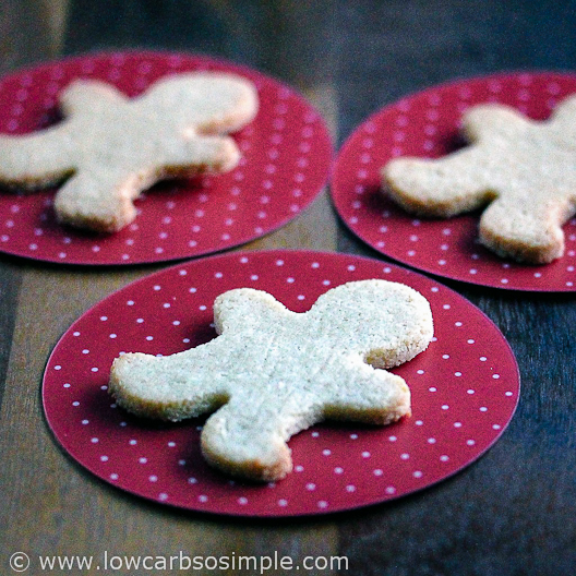 Sugar-Free, Gluten-Free Low-Carb Ginger Cookies | Low-Carb, So Simple!