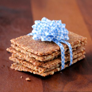 """Grain-Free """"Whole Grain"""" Crackers 