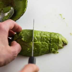 Cutting the Avocado Flesh | Low-Carb, So Simple!