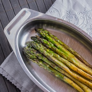 Smoky Asparagus with Garam Masala | Low-Carb, So Simple!