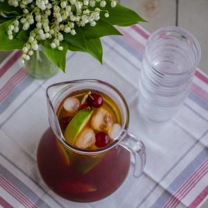 Sugar-Free Cherry Vanilla Iced Tea   Low-Carb, So Simple!