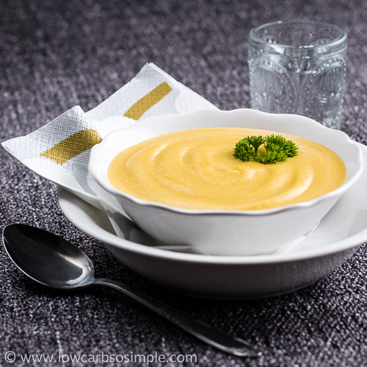 Cream of Pumpkin Soup | Low-Carb, So Simple!