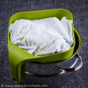 Covered with Excess Cheesecloth | Low-Carb, So Simple!