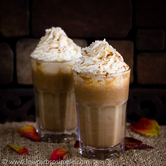 Sugar-Free Pumpkin-Spice Latte | Low-Carb, So Simple!