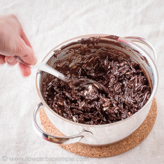 Crunchy Cherry Chocolate Confections; Ready Mixture | Low-Carb, So Simple!