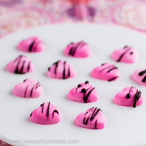 Sugar-Free Cream Cheese Candies; With a Little Bit of Chocolate   Low-Carb, So Simple!