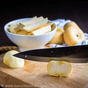 Turnip Fries; Cutting Turnips into Thick Sticks | Low-Carb, So Simple!