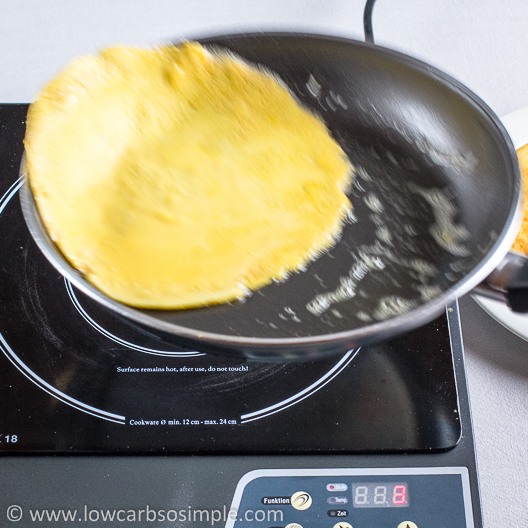 Gluten-Free Low-Carb Crepes; Flipping the Crepe | Low-Carb, So Simple!