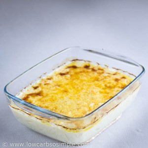 Quick and Easy 5-Ingredient Cauli 'n' Cheese; Ready, Baked Dish | Low-Carb, So Simple!