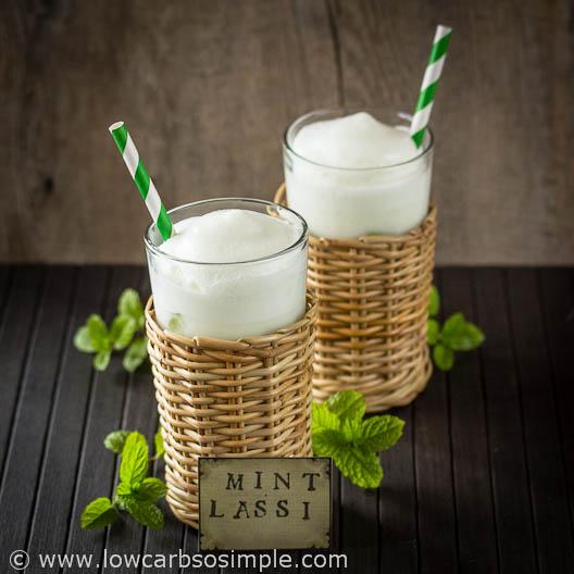 Low-Carb Mint Lassi   Low-Carb, So Simple!