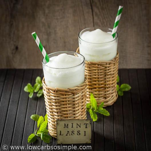 Low-Carb Mint Lassi | Low-Carb, So Simple!