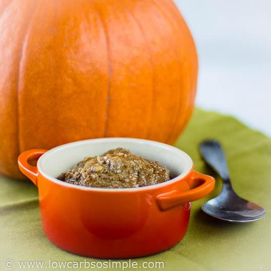 Spicy Pumpkin Meatloaf in a Mug | Low-Carb, So Simple!