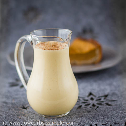 Eggsquisite Eggnog Sauce | Low-Carb, So Simple