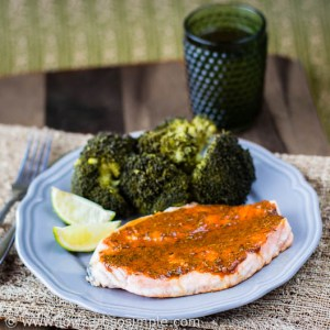 Spicy Salmon for One   Low-Carb, So Simple / Guest Post for Jess Paige