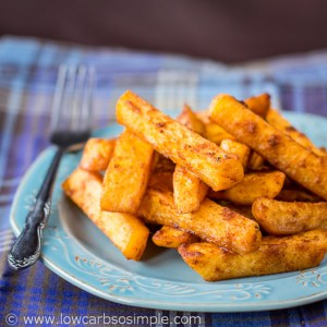 Taco Turnip Fries | Low-Carb, So Simple / Guest Post for KetoDiet Blog
