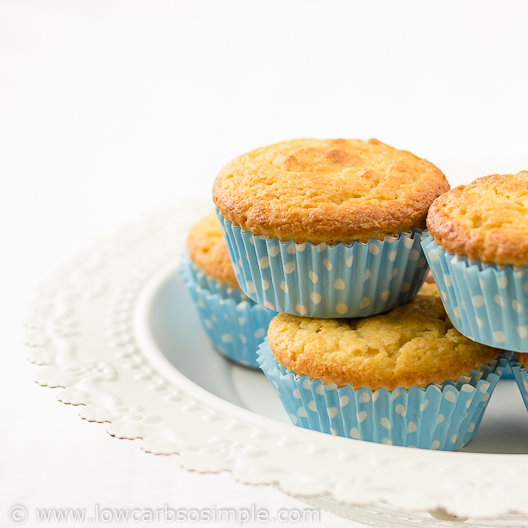 Unusually Fluffy Muffins With Natvia | Low-Carb, So Simple!