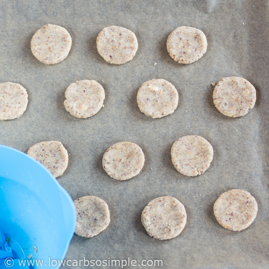 Ready to the Oven   Low-Carb Hazelnut Butter Cookies