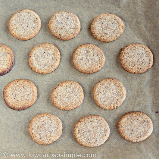 Straight from the Oven | Low-Carb Hazelnut Butter Cookies