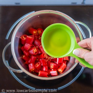 Sugar-Free Sweet Chili Sauce; Adding ACV | Low-Carb, So Simple