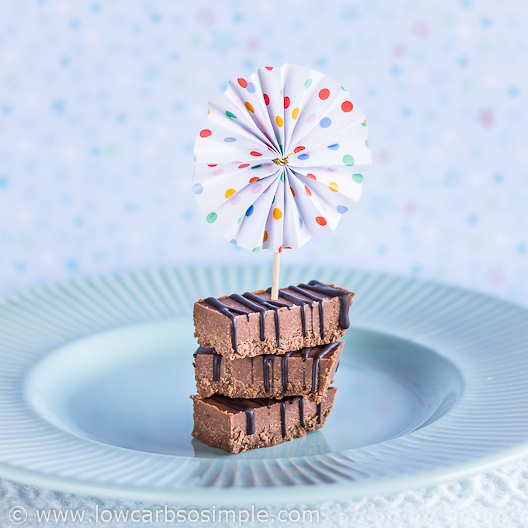 Irresistibly Easy No-Sugar Nutella Fudge | Low-Carb, So Simple