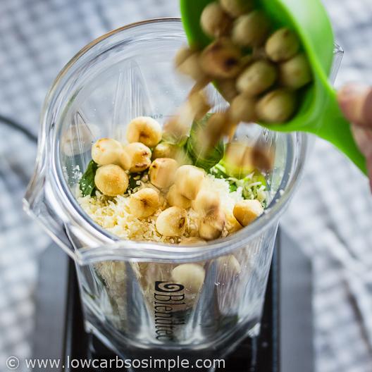 Best-o Keto Pesto; Macadamias | Low-Carb, So Simple